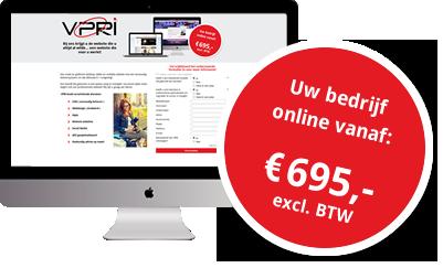 website vanaf € 695,-